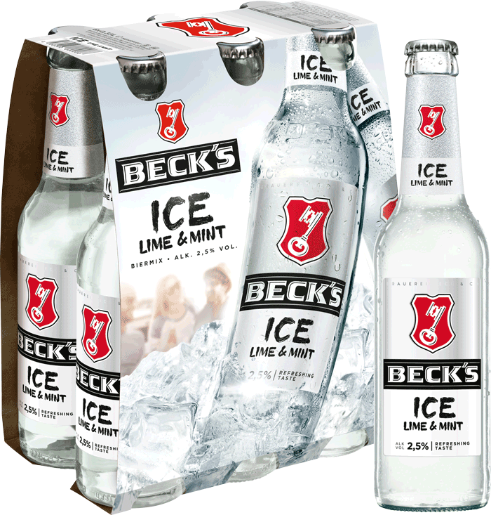 Beck's Ice Sixpack
